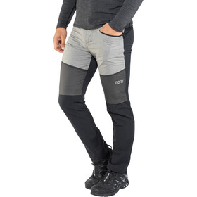 GORE WEAR H5 Gore Windstopper Hybrid Pants Herre black/terra grey